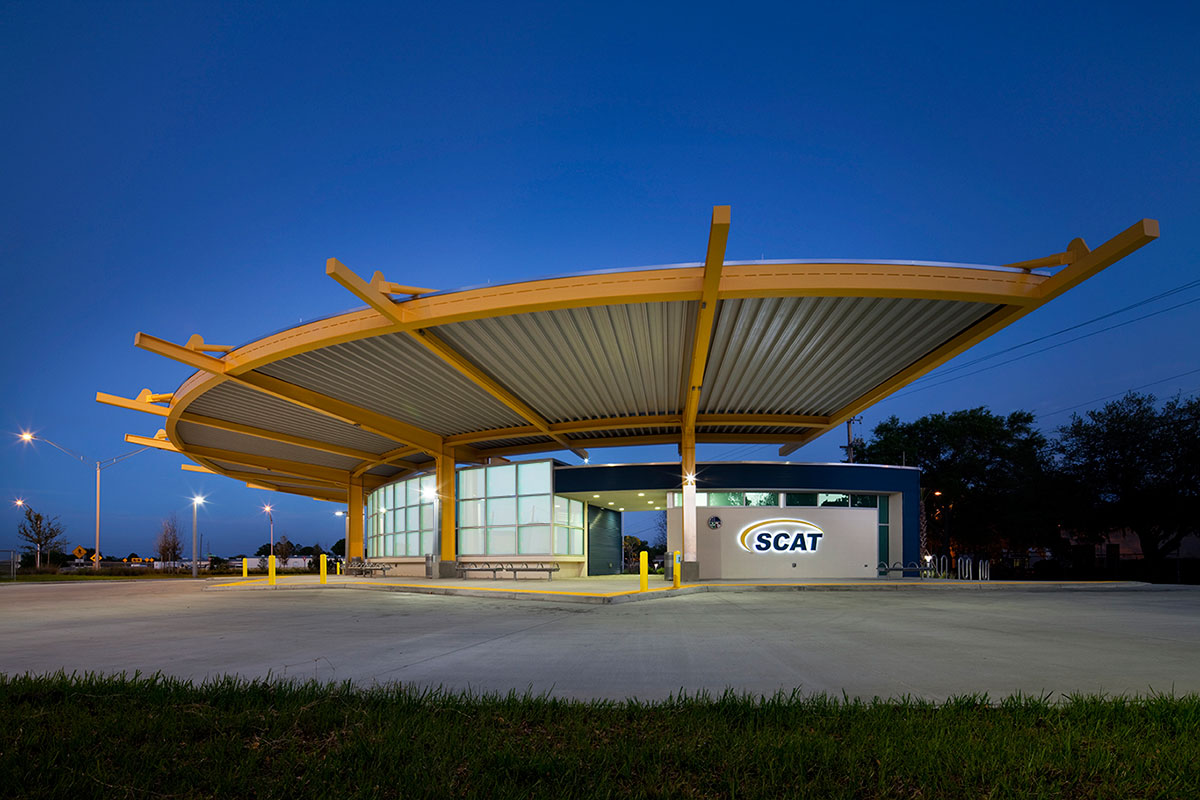 Sarasota County Area Transit (SCAT) Intermodal Transfer Station