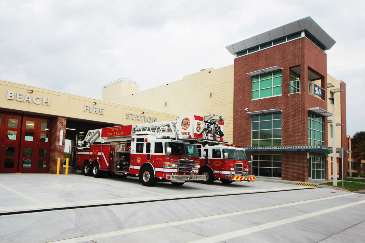 Cocoa Beach Fire Station #51