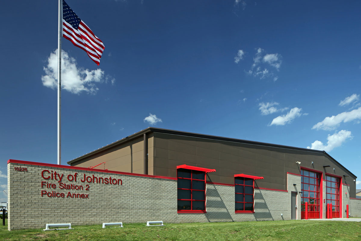 Johnston Public Safety Complex and Fire Station #2