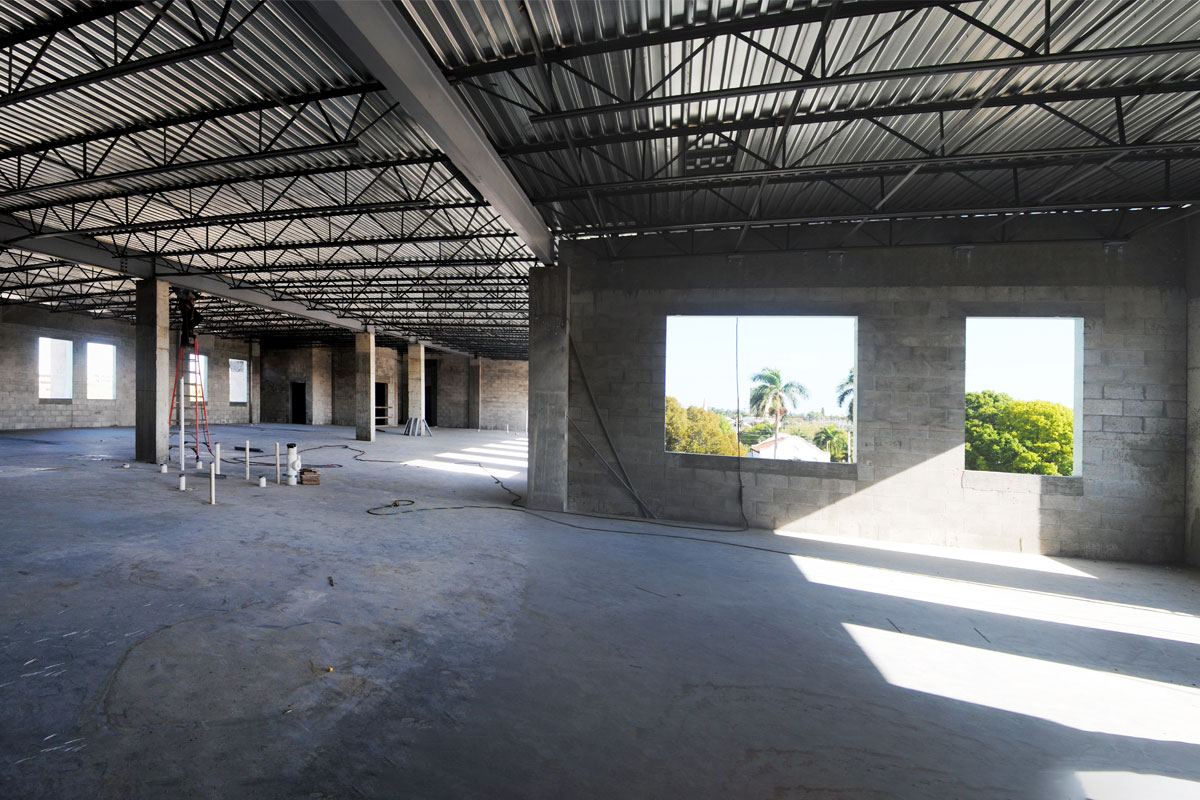 Fort Myers Fire Administration Construction Fourth Floor Perspective