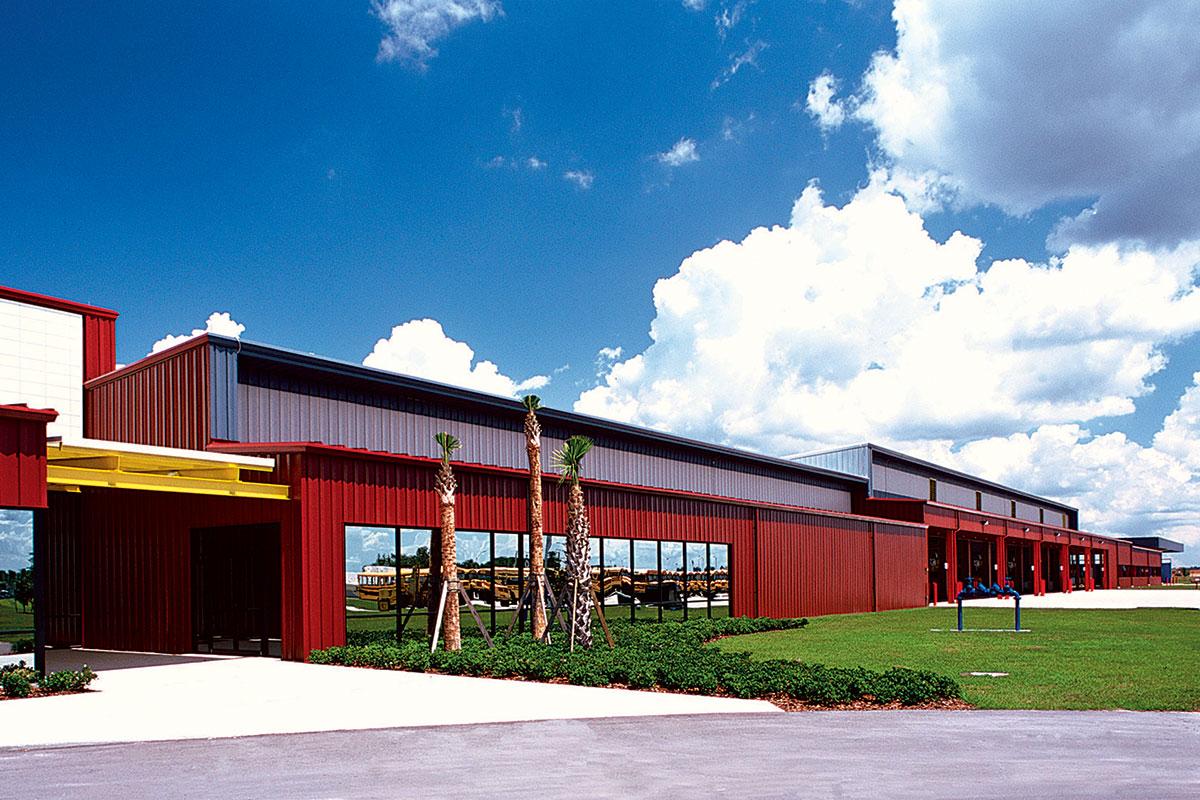 School District Of Osceola County Transportation Operations Facility Portfolio Civic Institutional Transportation
